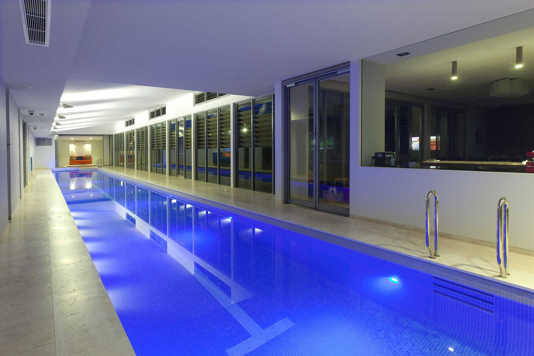 The Ultimate Luxury, A Sunset Indoor Lap Pool And Spa! | Sunset Pools Sydney