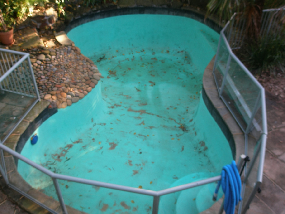 Residential Pool Project - Neutral Bay Before