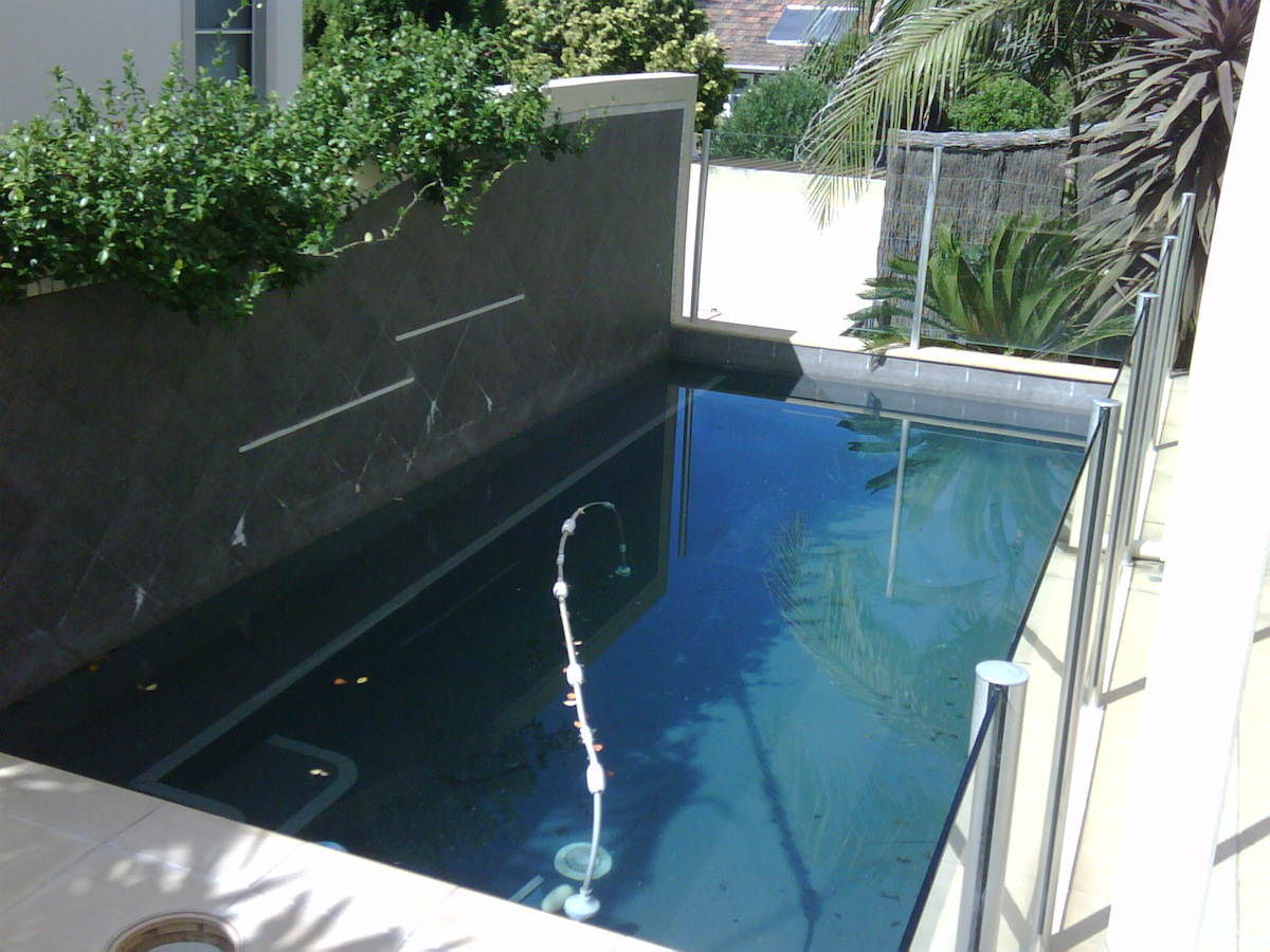 Residential Pool Project - Willoughby Before